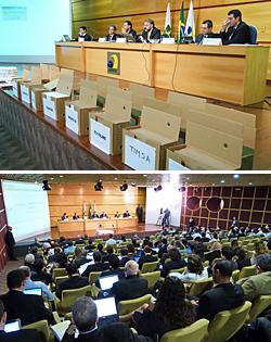 Sessão de abertura, análise e julgamento das propostas de preço do leilão de 450Mhz e 2,5Ghz teve início nesta terça-feira