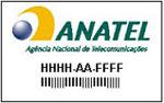 Selo de Certificação da Anatel